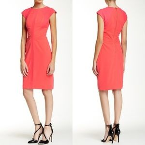 NWOT Ted Baker Acerola Knit Panel Sheath Dress 10